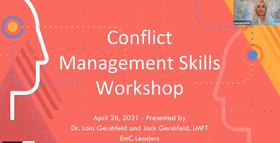 Conflict Resolution Management Skills